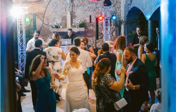 Momento baile con dj